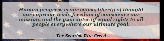 Scottish Rite Creed